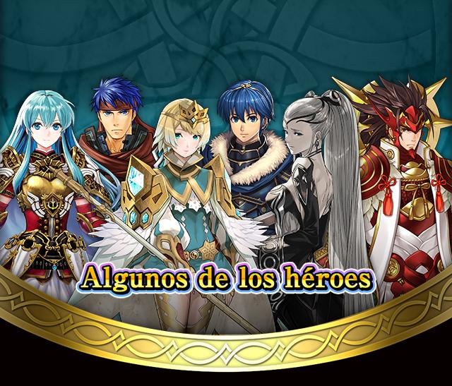 Algunos de los héroes